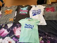 5 Medium women's Superdry tops
