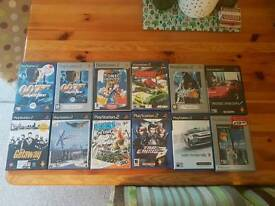 23 Ps2 psp xbox and xbox360 games