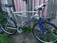 Ultralight aluminium Claud Butler mountain bike