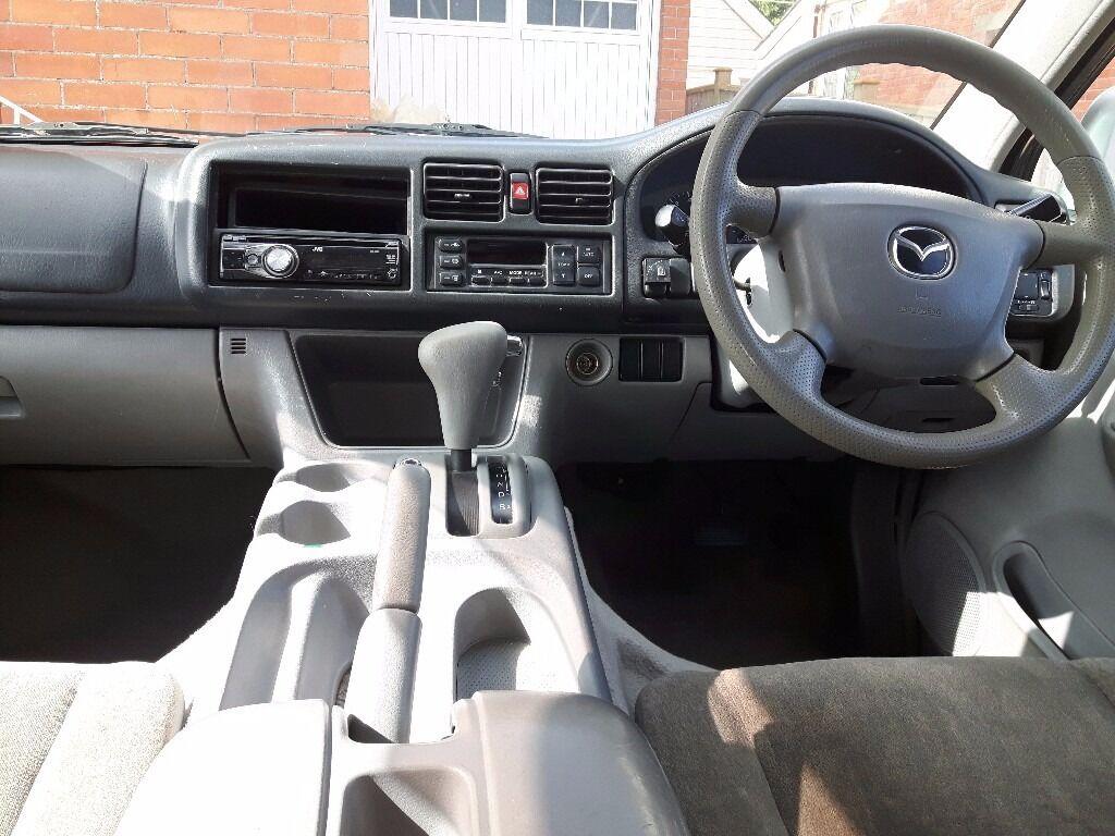 Mazda Bongo Campervan 5 Seats With Seatbelts 4 Berth Awning Toilet