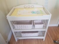 Used mammas and pappas baby changing unit for sale