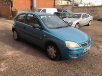 Vauxhall corsa spare or repair