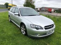 54 REG SUBARU LEGACY 2.5 i SE SPORTS TOURER 5DR-NEW CAMBELT -FULL LEATHER-12 MONTHS MOT-DRIVES WELL