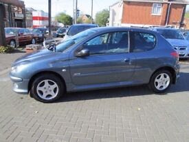 *1 LADY OWNER FROM NEW PEUGEOT 206 1.4 VERVE LONG MOT TIMING BELT CHANGED