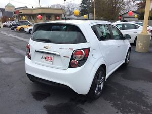2013 CHEVROLET SONIC RS AUTO- SUNROOF, HEATED LEATHER SEATS, REM Windsor Region Ontario image 5