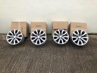 4 x original range rover evoque alloys, very good condition. (no tyres)