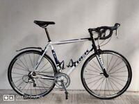 SERVICED (4565) 700c TREK 1.5 Aluminium ROAD BIKE RACER RACING BICYCLE Size L, Height: 175-190 cm