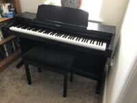 Technics SX-PX332 Digital Piano, mahogany full size 88 weighed keys, sampled off a Steinway Grand
