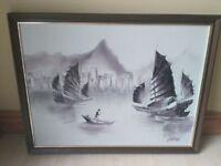 Canvas Print Hanging Wall Decor Art Man at Sea