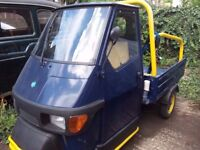 Piaggio Ape 50 pickup for sale (NEW LOWER PRICE FOR QUICK SALE)