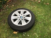 4x Goodyear winter tyres with bmw alloys retail approx £100 each