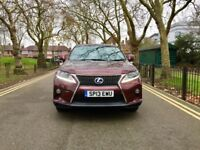 Hybrid 2013 Lexus RX 450h 3.5 F Sport Station Wagon CVT | Low 17900 Miles | 1 year MOT | Q7 X5 ML GL
