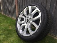 "Genuine Range Rover L405, Sport 22"" Style 6 wheel & Tyre CK521007HA -BRAND NEW!!"