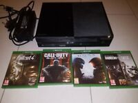Xbox One console + games