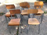 Former School Chairs (x11)