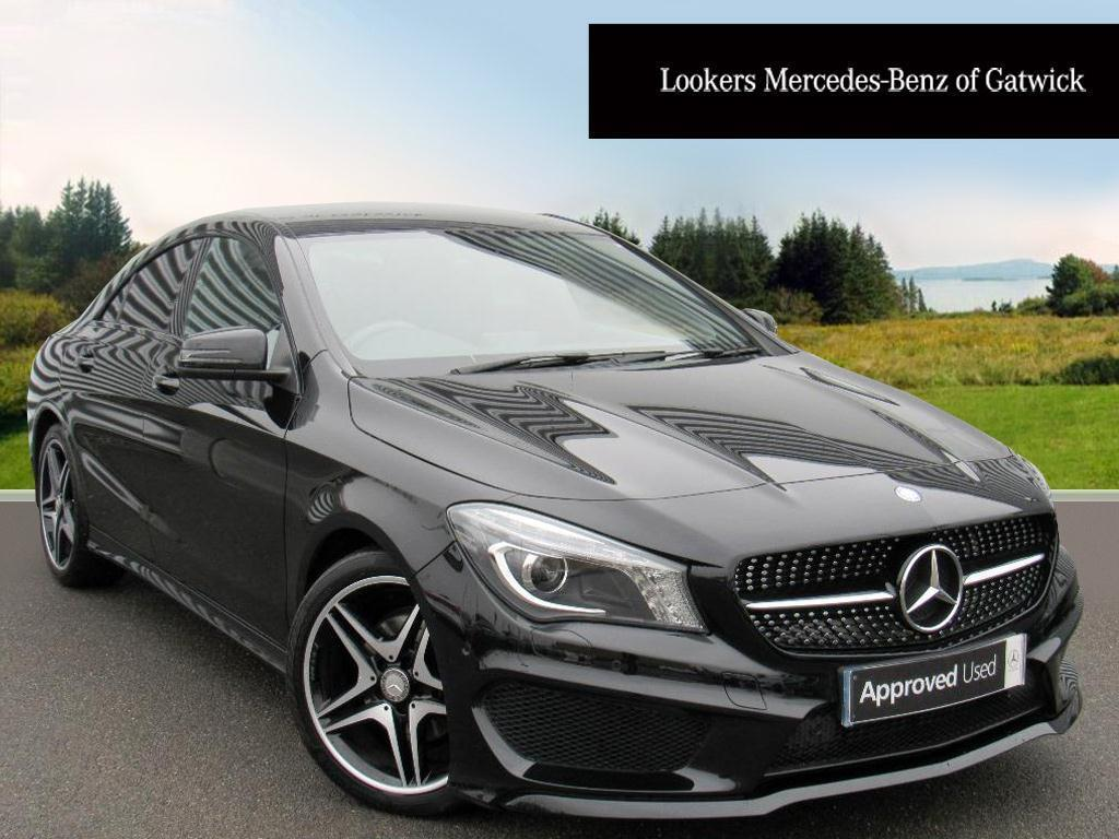 mercedes benz cla cla180 amg sport black 2014 09 30 in crawley west sussex gumtree. Black Bedroom Furniture Sets. Home Design Ideas