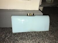 Baby blue ted baker purse with box