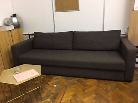 Heals Three Seater Sofa Bed 'Repose' Great Condition