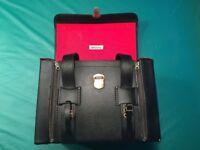 DIXONS Vintage Black Vinyl Camera Bag