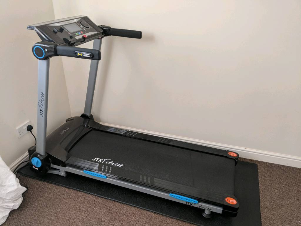 a821c2c0619 JTX Fitness Slimline Compact folding treadmill - barely used