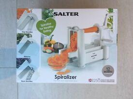 Spiralizer by Salter, brand new