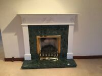 Fire place and surround. Esher Surrey
