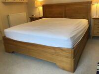 Super king bed frame and slatted base