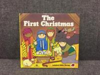 Rare vintage THE FIRST CHRISTMAS Ladybird HB Book Bible stories SDHC