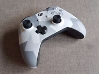 Xbox One Official Winter Forces Controller Brand New