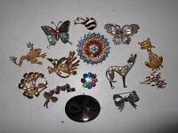 Vintage Brooch Collection