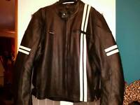 Gear X leather motorcycle jacket