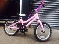 Almost New - Pink Ridgeback 14'' bike - £60