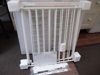 """BABYDAN """"CONFIGURE"""" FIREPLACE SAFETY GATE IN WHITE see details"""