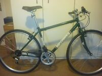 "Real Clifton Hybrid Bike 18"" Frame and new mud gaurds"