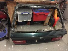 BMW E34 touring tailgate boot lid 5 series with wiring