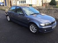 BMW 320 D. Es Reg 2004 saloon 4door