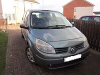 Renault Scenic low mileage 1.6 petrol with MOT