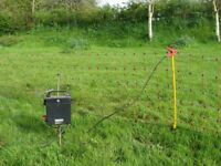Hotline Electric Fence. 12 volt. 50 metres long, 50 cms high with 14 posts