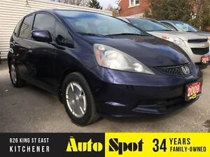 2009 Honda Fit LX/MOST POPULAR, DESIRABLE SUBCOMPACT CAR, ON THE