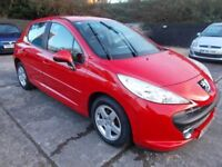 Peugeot 207 1.4 S 61000 from new Striking car superb .