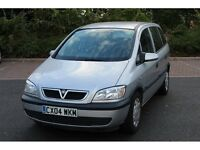 Vauxhall Zafira 2004 MPV, 7 SEATER FAIMLY CAR MUST GO