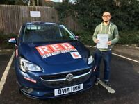Professional Driving lessons crash course block booking discount RED driving school