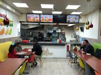 Takeaway Fast Food Shop Business For Sale - Rusholme Main Road - Huge Footfall - Unique Opportunity