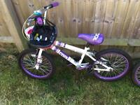 Two girls BMX bikes