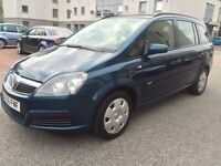 2006 VAUXHALL ZAFIRA MOT UNTIL NOV 2017 7 SEATS 85K MILES BARGAIN PRICE REDUCED FOR QUICK SALE