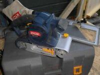 Ryobi belt sander - EBS 1310V. Vari speed. Used for one job. Very good condition.