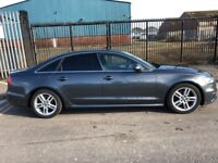 Audi A6 S-Line—Full Service—Law Milage