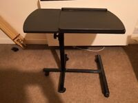 Universal Projector Floor Stand Base Adjustable Trolley Music Table Desk