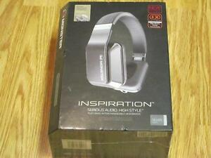Monster INSPIRATION CONTROL TALK SILVER Over-Ear Headphones