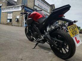 Yamaha MT-125, ABS, 2015 *LOW MILES* £2,500 ONO.